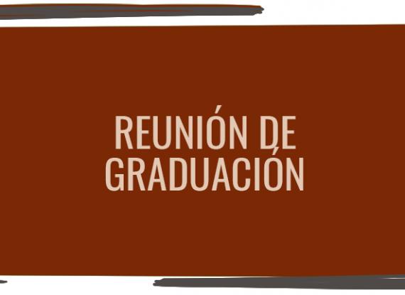 Reunión para graduación
