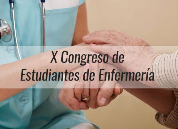 Inscripciones al X Congreso de Estudiantes de Enfermería