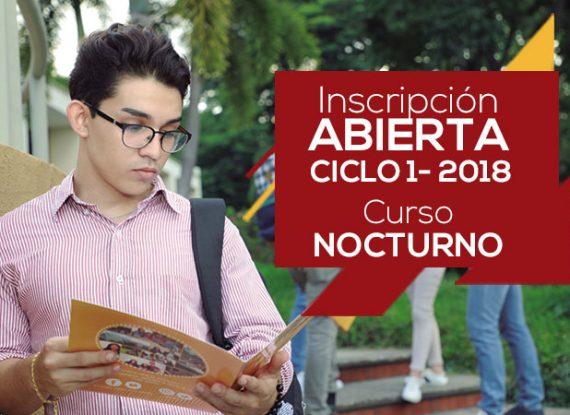 Tercer curso pre universitario – Ciclo I 2018 – Nocturno