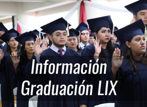 Información para Graduación LIX