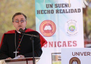 UNICAES INICIA CONSTRUCCIÓN DE CENTRO REGIONAL DE METAPÁN