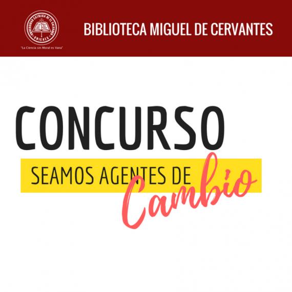 """BASES DEL CONCURSO """"SEAMOS AGENTES DE CAMBIO"""""""