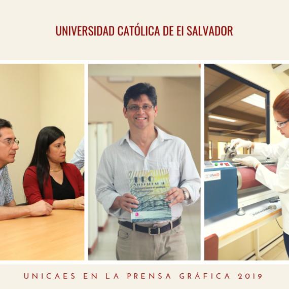 ÚLTIMAS NOTICIAS UNICAES EN LA PRENSA GRÁFICA, FEB 2019